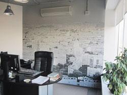 Фотообои в офисе